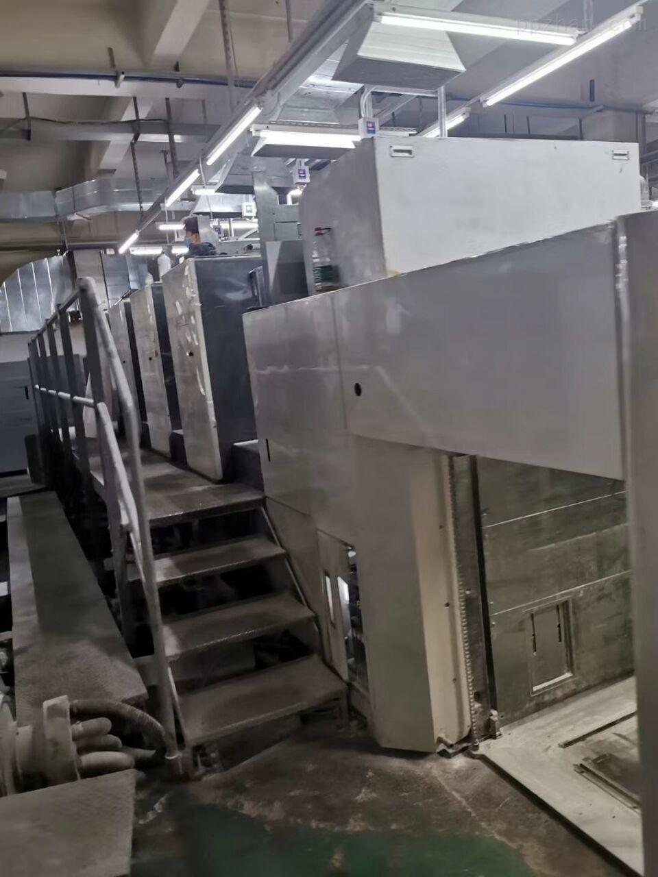 南京低价出售小森640四色对开印刷机